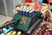 В Ноябрьске жителей возмутил праздничный «пивной танк»