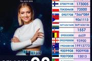 Имена первых  10 финалистов «Евровидения-2019» , которое проходит в Израиле