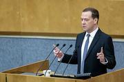 Медведев пожелал удачи на выборах в Раду партии Медведчука