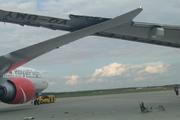 В Шереметьево два самолёта столкнулись крыльями