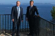 Путин и Макрон обсудили ситуацию на Украине