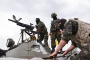 В зоне конфликта в Донбассе «правосеки» атаковали машину с новым комбригом ВСУ