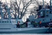 Украина обвинила Россию в краже унитазов с задержанных ранее кораблей