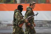 Опубликовано видео атаки ополченцев Донбасса по ВСУ из самодельного миномета