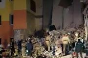 «Пока не могут найти жильцов первого этажа», под завалами дома в Белгороде могут быть люди