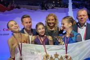 Воспитанницы Этери Тутберидзе заняли весь пьедестал почета в финале Гран-при в Турине