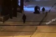 В Уфе в новогоднюю ночь произошла драка: семеро на одного
