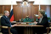 Валентина Матвиенко поддержала решение Путина отдать часть полномочий парламенту