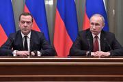 Владимир Путин подписал указы о назначениях Мишустина и Медведева