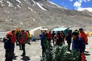 На склоне Эвереста обнаружены тела четырех альпинистов