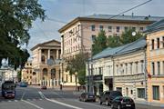 У здания ГУВД Москвы снесло ураганом крышу (ВИДЕО)
