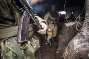 Боевые действия в Донбассе показали на видео из окопов ВСУ