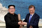 Президент Южной Кореи в субботу встретился с главой КНДР