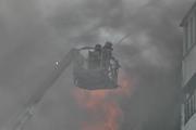 Названа предварительная причина пожара в иркутском торговом центре