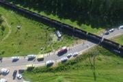 В Интернете опубликована  видеозапись с места аварии в Орловской области