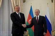 Путин назвал дату нового визита Алиева в Россию