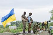 Опубликовано видео ударов нарушивших перемирие в Донбассе ВСУ по Докучаевску