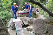 В Крыму произошел несчастный случай с туристкой у Арпатского водопада