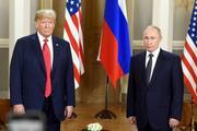 На июльской обложке Time изображено лицо с чертами Путина и Трампа