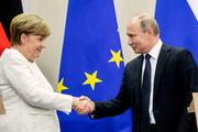 Названы возможные темы переговоров Путина и Меркель 18 августа