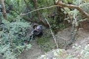 В Крыму  джип сорвался с обрыва.  Три человека погибли