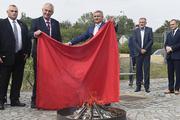 Чешский лидер сжег красные трусы у стен дворца