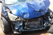 В Москве после ДТП опрокинулась легковушка и протаранила еще четыре машины