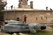 На Украине рассказали куда дели снесенные памятники Ленину