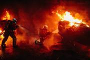 Протестующие во Франции заблокировали одиннадцать топливохранилищ