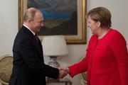 Путин и Меркель обсудили создание Конституционного комитета в Сирии