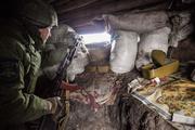 Позиции ведущих «аккуратную войну» с ВСУ под Донецком бойцов ДНР сняли на видео