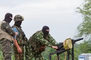 Видео с подбитым ВСУ военным автомобилем защитников Донбасса появилось в сети