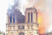 Священник провел параллель между пожаром в Нотр-Даме и разрушением украинских храмов