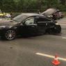На Кутузовском проспекте в Москве произошла массовая авария, погиб человек