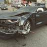 В Питере на Кольцевой автомобильной дороге случилась массовая авария