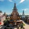 В Москве загорелся Измайловский кремль