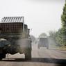 Кадры подрыва ракетой ДНР везшего боеприпасы грузовика ВСУ обнародовали в сети