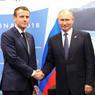 Макрон принял приглашение Путина приехать в Москву 9 мая