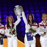 Российская сборная выиграла командный зачет чемпионата мира по фехтованию