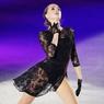 Загитова вышла на лёд в прозрачном кружевном платье