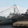 Корабли стран НАТО в Риге