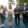 В Полевском открыта новая воркаут-площадка