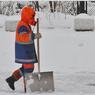 Глава Курска вышла на уборку снега