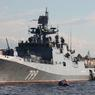 """Фрегат ВМФ РФ """"Адмирал Макаров"""" взял курс в Средиземном море"""