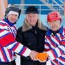 В областном центре состоялся чемпионат Сахалинской области по хоккею с мячом