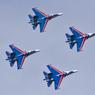 """""""Русские Витязи"""" продемонстрировали новую фигуру высшего пилотажа?"""