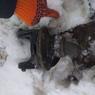 Новейший украинский вездеход сломался по дороге на военные учения