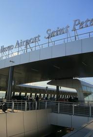 В петербургском аэропорту Пулково автомобиль столкнулся с самолётом