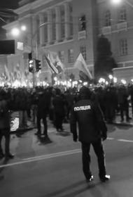 Бандеровцы проводят в Киеве факельное шествие