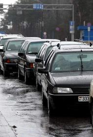 Российские туристы штурмуют въезд в